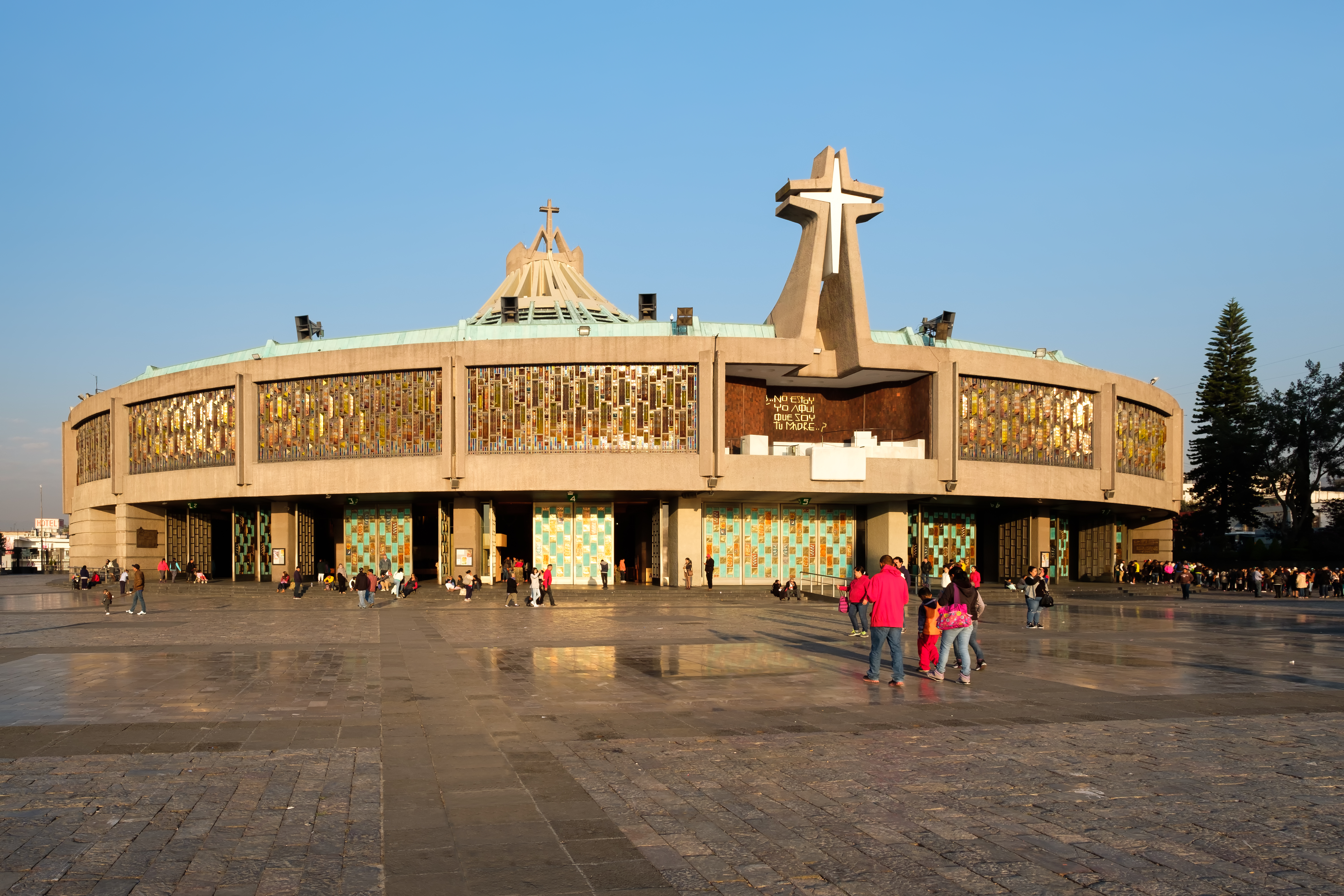 The Basilica of Our Lady of Guadalupe in Mexico City